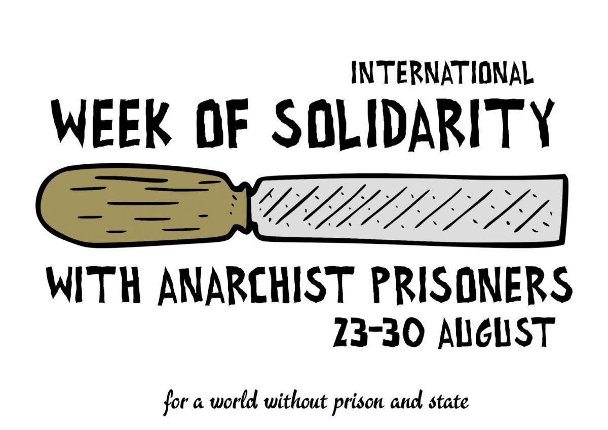 Internationalen Woche der Solidarität für anarchistische Gefangene
